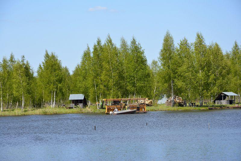 Платная рыбалка в Подмосковье с проживанием