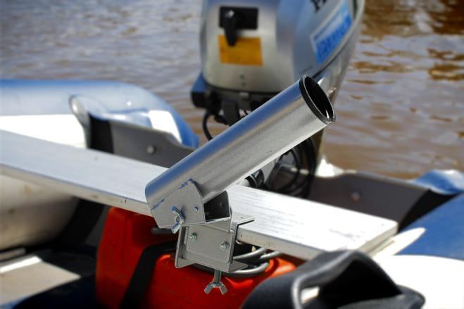 Держатель для спиннинга для лодки