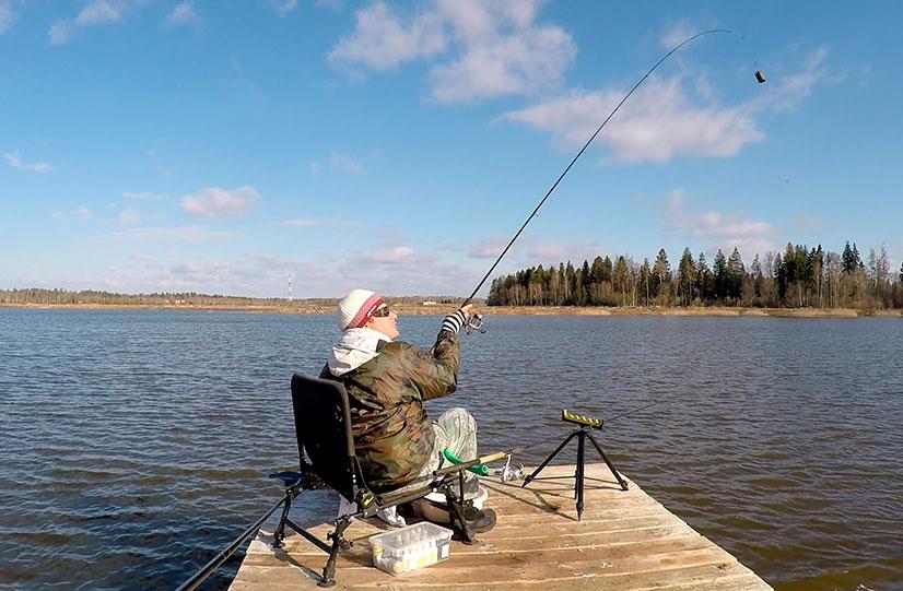 Рыбалка платная на новой риге