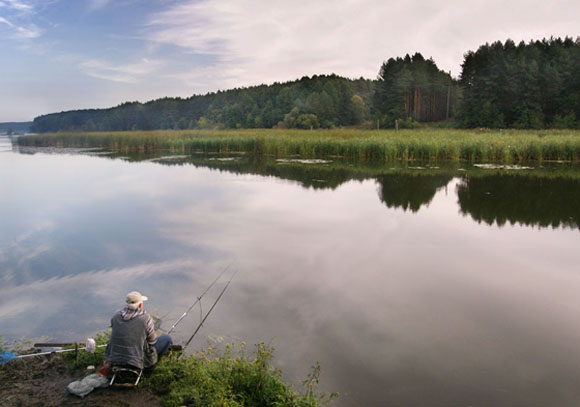 Рыбалка при штиле