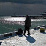 Рыбалка с берега на Черном море