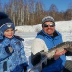 Особенности зимней рыбалки на осетра