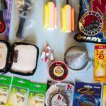 Набор принадлежностей для зимней рыбалки